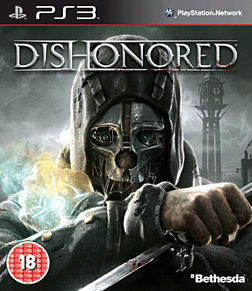 Dishonored PlayStation 3 Cover Art