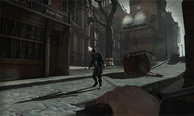 First-person steampunk action in Dishnoured on Xbox 360, PS3 and PC