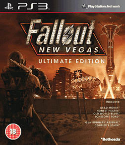 Fallout New Vegas: Ultimate Edition PlayStation 3 Cover Art