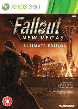 Fallout New Vegas: Ultimate Edition Xbox 360 Cover Art