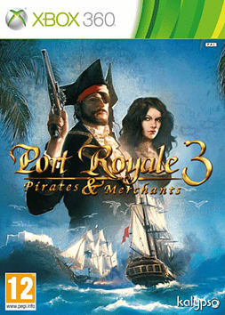 Port Royale 3: Pirates & Merchants Xbox 360 Cover Art