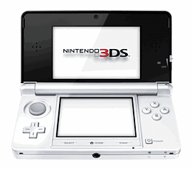 Nintendo 3DS Ice White 3DS - Ice White 