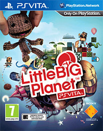 LittleBigPlanet PS Vita PS Vita Cover Art