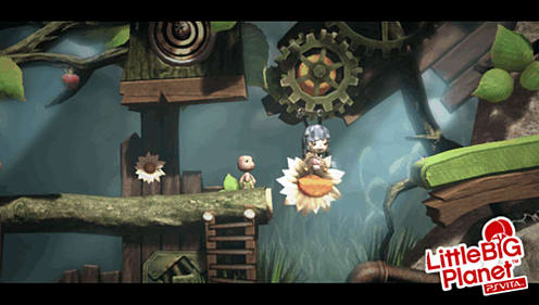 Build your own platforming gameplay in LBP for PS Vita