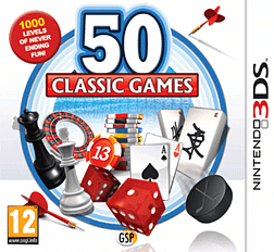 50 Classic Games 3DS Cover Art