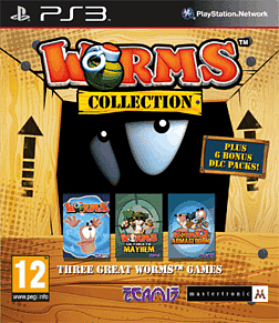 Worms Collection Playstation 3 Cover Art