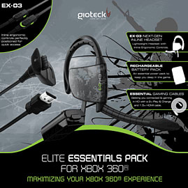 Gioteck Elite Essentials Pack Accessories