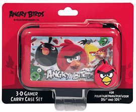 Angry Birds Stereoscopic 3D Gamer 4-piece Accessory Set for Nintendo 3DS Accessories 