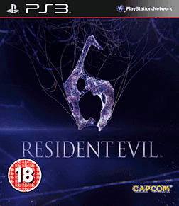 Resident Evil 6 PlayStation 3 Cover Art