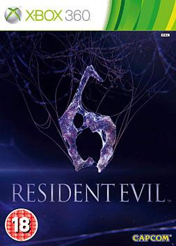 Resident Evil 6 Xbox 360 Cover Art
