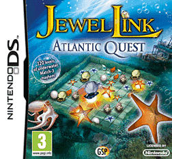 Jewel Link: Atlantic Quest DSi and DS Lite Cover Art