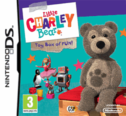 Little Charley Bear DSi and DS Lite Cover Art