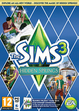 The Sims 3: Hidden Springs PC Games Cover Art