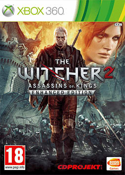 The Witcher 2 Enhanced Edition Assassins of Kings Xbox 360 Cover Art