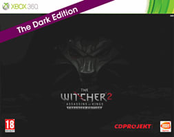 The Witcher 2 Exclusive Dark Edition Assassins of Kings Xb 360 Cover Art