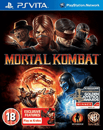 Mortal Kombat PS Vita Cover Art