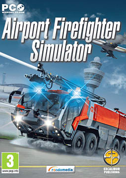 Airport Firefighter Simulator PC Games Cover Art