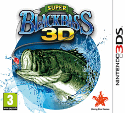 Super Black Bass 3D 3DS Cover Art