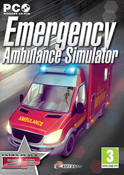 Emergency Ambulance Simulator PC Games Cover Art