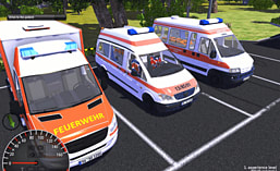Emergency Ambulance Simulator screen shot 2
