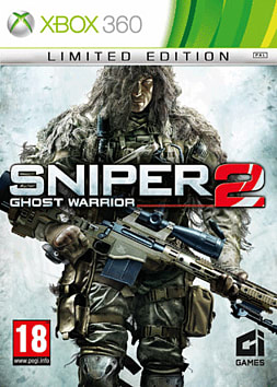 Sniper: Ghost Warrior 2 Limited Edition Xbox 360 Cover Art