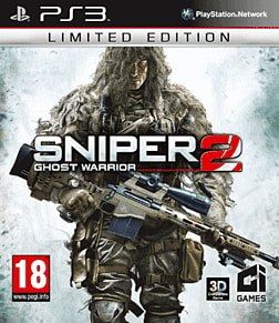 Sniper: Ghost Warrior 2 Limited Edition PlayStation 3 Cover Art