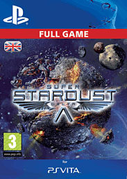 Super Stardust Delta PlayStation Network Cover Art