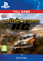 MotorStorm RC PlayStation Network Cover Art