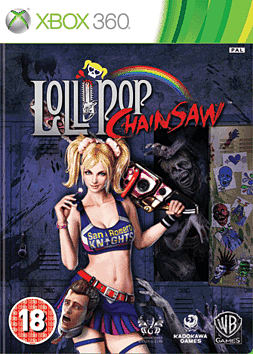 Lollipop Chainsaw Xbox 360 Cover Art
