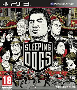 Sleeping Dogs PlayStation 3 Cover Art
