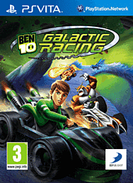 Ben 10 Galactic Racing PS Vita Cover Art