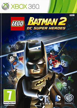 LEGO Batman 2 Xbox 360 Cover Art