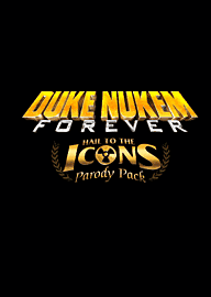 Duke Nukem Forever Hail to the Icons Parody Pack PC Games Cover Art