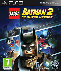 LEGO Batman 2 PlayStation 3 Cover Art