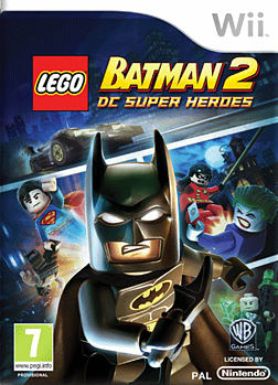 LEGO Batman 2 Wii Cover Art