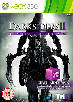 Darksiders II: Death Rides Limited Edition - Only at GAME Xbox 360 Cover Art