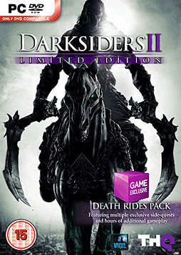 Darksiders II: Exclusive Death Rides Limited Edition PC Games Cover Art