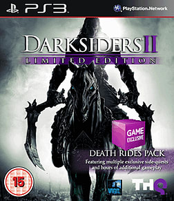 Darksiders II: Death Rides Limited Edition - Only at GAME PlayStation 3 Cover Art
