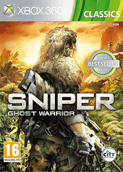 Sniper Ghost Warrior Classics Xbox 360 Cover Art