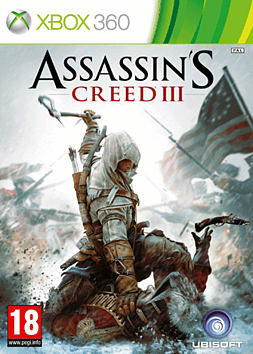 Assassin's Creed III Xbox 360 Cover Art