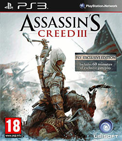 Assassin's Creed III PlayStation 3 Cover Art