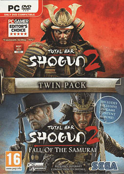 Total War: Shogun 2 + Total War: Shogun 2 Fall of the Samurai Double Pack PC Games Cover Art