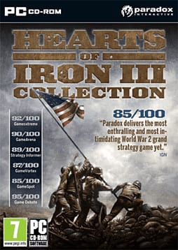 Hearts of Iron III Collection PC Games Cover Art