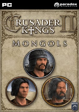 Crusader Kings II Mongol Faces DLC PC Games Cover Art