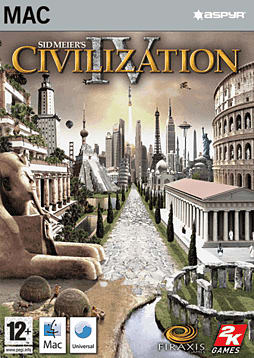 Sid Meier's Civilization IV (MAC) Mac Cover Art