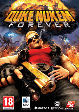 Duke Nukem Forever (MAC) Mac Cover Art