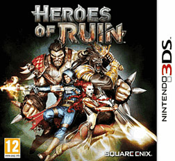 Heroes of Ruin 3DS Cover Art