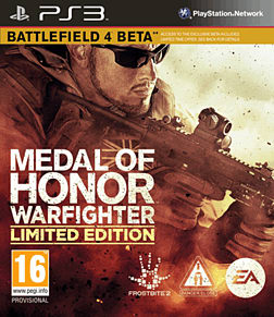 Medal of Honor: Warfighter Limited Edition PlayStation 3 Cover Art
