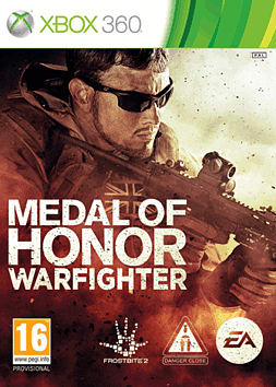 Medal of Honor: Warfighter Xbox 360 Cover Art