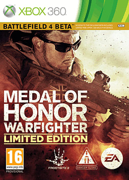 Medal of Honor: Warfighter Limited Edition Xbox 360 Cover Art
